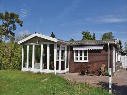 Holiday Home Knebel with a Fireplace 3