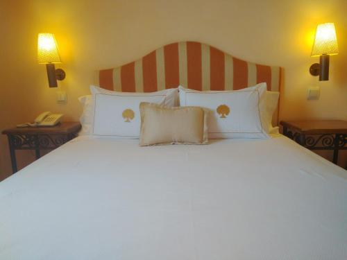 Doppel-/Zweibettzimmer mit eigener Terrasse Cigarral de Caravantes 21