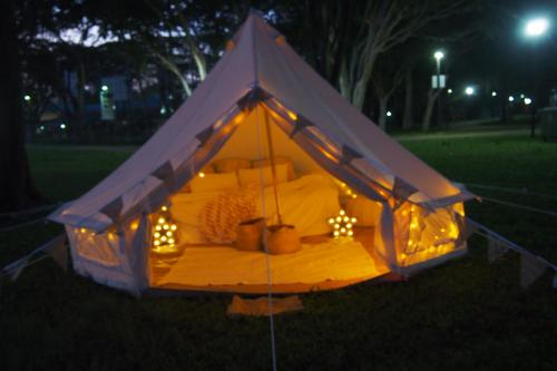 Property Image#8 Gl&ing Society - Medium Bell Tent & Glamping Society Medium Bell Tent Singapore Singapore ...