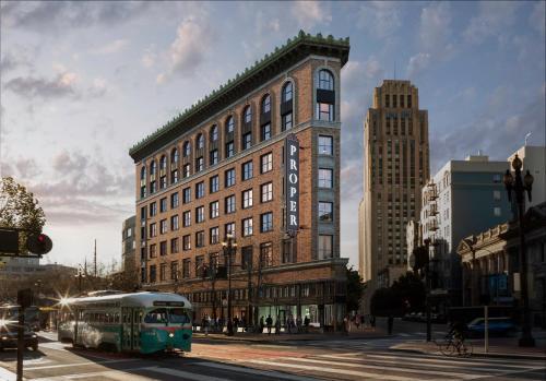 1100 Market Street, Hotel Entrance is at 45 McAllister Street, San Francisco, CA 94102, United States.