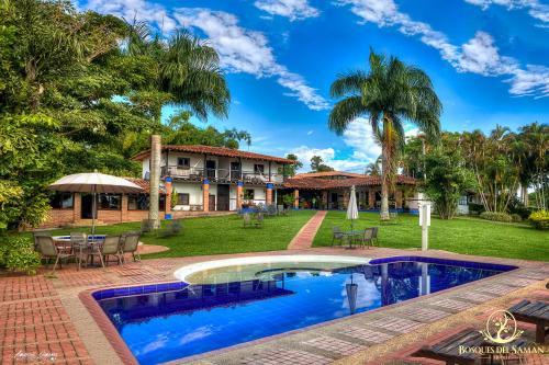 Foto de Hotel Bosques Del Saman Alcala