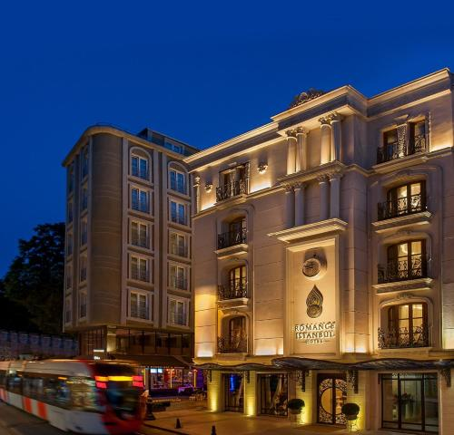 Istanbul Romance Istanbul Hotel odalar