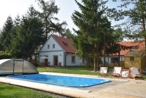 Hotel-overnachting met je hond in Apartmány Kojákovice - Třeboň - Jílovice