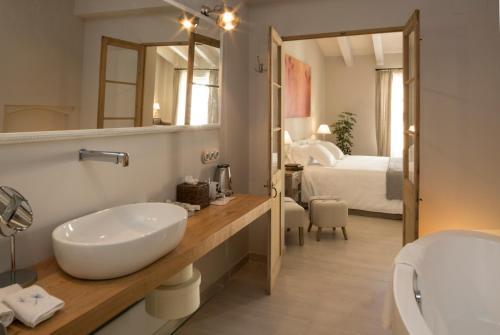 Deluxe Doppelzimmer Jardí de Ses Bruixes Boutique Hotel 25