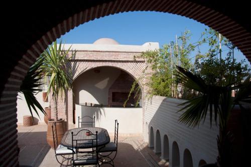Riad Granvilier, Gästezimmer Marrakech