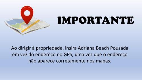 Adriana Beach Pousada Photo