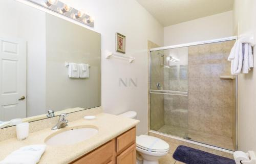 Three Bedroom Vacation Townhouse Oakwater Resort 27ow85 - Kissimmee, FL 34747