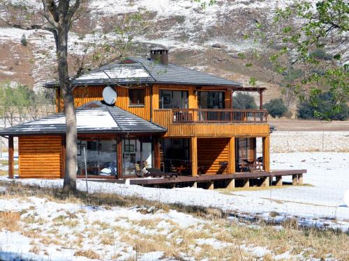 Sani Valley Nature Lodges Photo