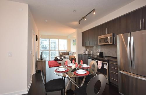 Furnished Apartments Near Square One By Canvas - Mississauga, ON L5B 0J8