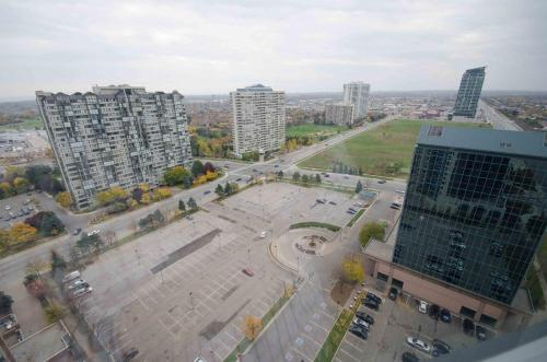 Furnished Apartment Near Square One By Canvas - Mississauga, ON L5B 0E1