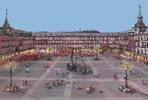 Hotel Book In Madrid - Plaza Mayor