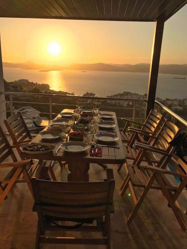Gulluk Bodrum Villa Sunset