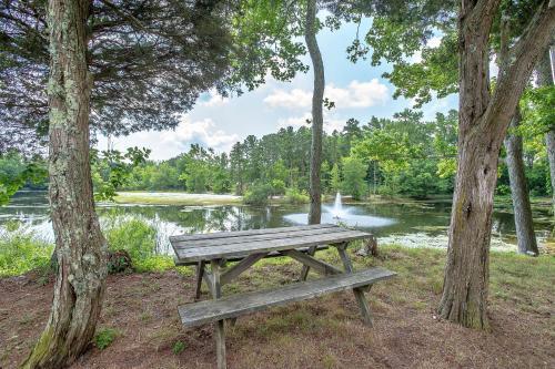 Chestnut Lake Camping Resort Porch Park Model 1