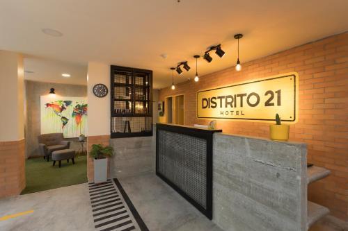 Foto de Hotel Distrito 21