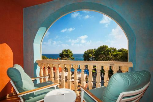 Double Room with Sea View with Spa Access Hotel & Spa Cala del Pi 9