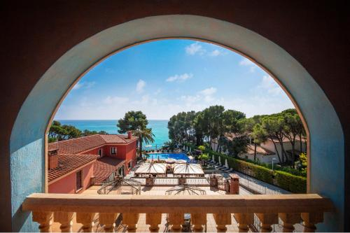 Double Room with Sea View with Spa Access Hotel & Spa Cala del Pi 10
