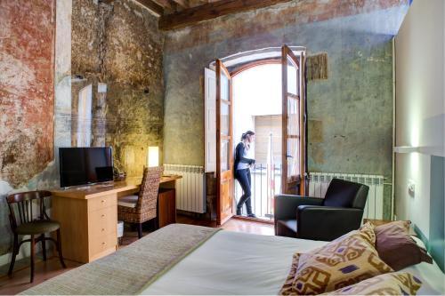 Habitación Doble Superior Hotel La Freixera 8