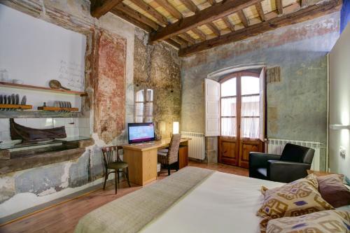 Habitación Doble Superior Hotel La Freixera 4