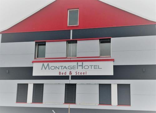 HotelMontagehotel Bed & Steel