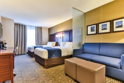 Comfort Suites Downtown Windsor Photo
