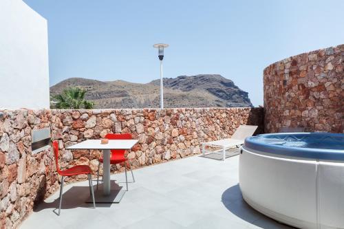 Suite Junior con vistas al mar Hotel Spa Calagrande Cabo de Gata 15