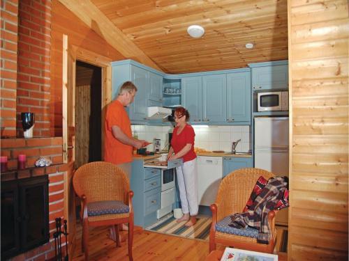 Holiday Home SF-58810 Kallislahti with Fireplace 10