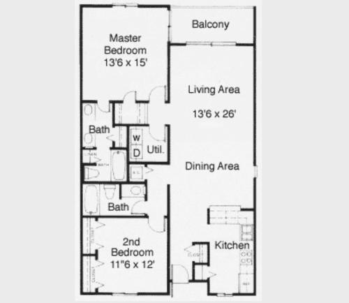 Anchorage II A02 Apartment Photo