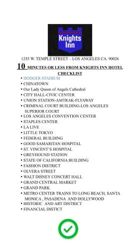 Knights Inn Los Angeles Central / Convention Center Area Photo