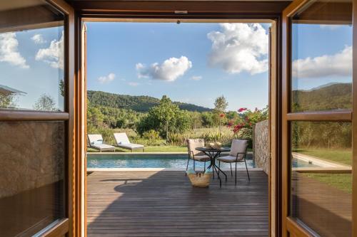 Suite con piscina privada Castell Son Claret 21