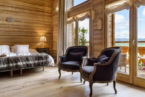 Suite Superior Hotel Viñas de Lárrede 4