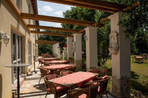 Pergola Mediterran mediterran hotel juwel karlstein am lower franconia bavaria