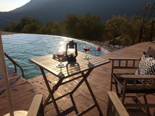 Kalkan Villa Ambar Badem rezervasyon