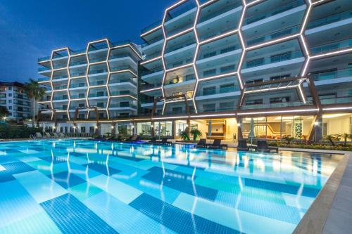 Alanya Fully Furnished Sea View Apartment tek gece fiyat
