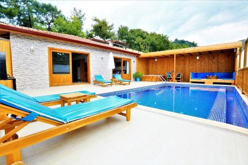 Kalkan Villa Polat online rezervasyon