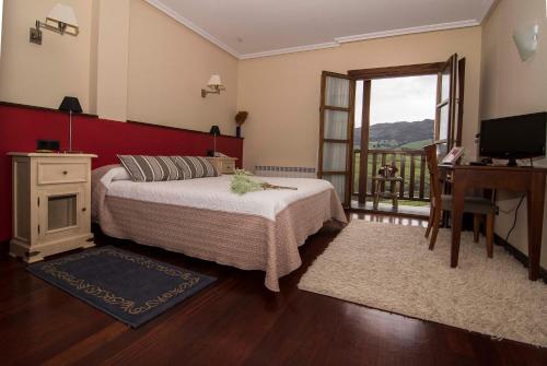 Habitación Doble con terraza Hotel Puerta Del Oriente 6