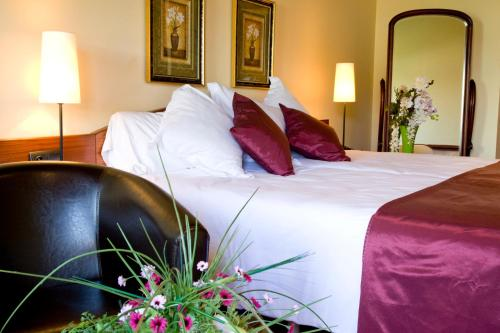 Superior Double Room with fireplace and Spa Access Hotel Del Lago 12