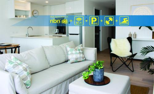 Modern apartment in the heart of South Brisbane