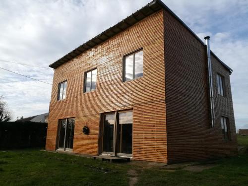 Maison ecologique en paille