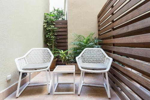 Habitación Premium con patio Hotel Casa 1800 Sevilla 4