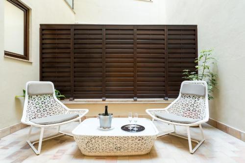 Habitación Premium con patio Hotel Casa 1800 Sevilla 2