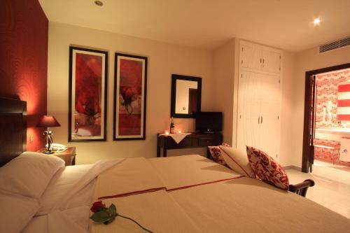 Habitación Doble - 1 o 2 camas - Uso individual Casa Baños de la Villa 17