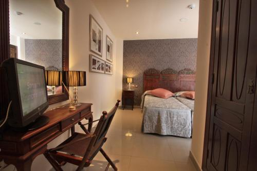 Habitación Doble - 1 o 2 camas - Uso individual Casa Baños de la Villa 15