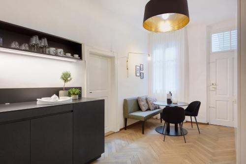 Wohnzimmer Apartments Bozen