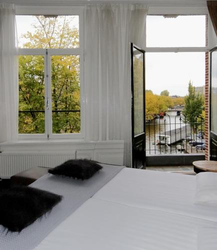 Boutique hotel view hotel amsterdam from 104 for Boutique hotel view