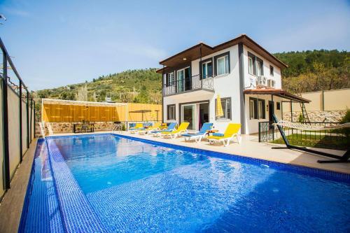 Kalkan Villa Lapaz rezervasyon