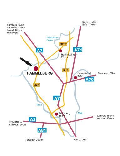 Hotel Deutsches Haus Hammelburg In Germany