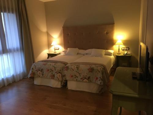 Habitación Doble - 1 o 2 camas - Uso individual Hotel Villa Monter 20
