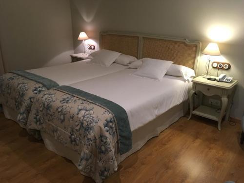 Habitación Doble - 1 o 2 camas Hotel Villa Monter 12