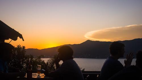 Sunset Backpackers Photo