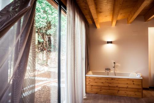 Zimmer mit Queensize-Bett und Gartenblick - Einzelnutzung Hotel Villa Retiro 2